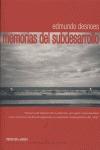 MEMORIAS DEL SUBDESARROLLO