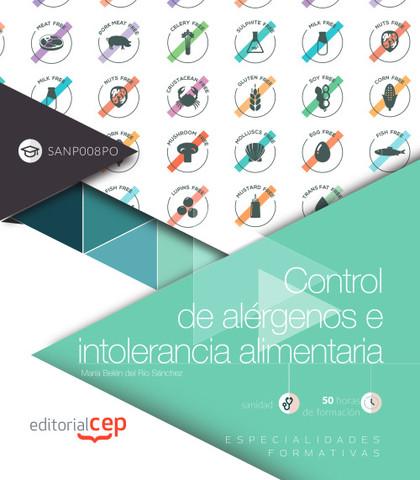 CONTROL DE ALÉRGENOS E INTOLERANCIA ALIMENTARIA (SANP008PO). ESPECIALIDADES FORM.