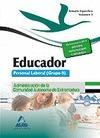 EDUCADORES. PERSONAL LABORAL (GRUPO II) DE LA ADMINISTRACIÓN DE LA COMUNIDAD AUT.