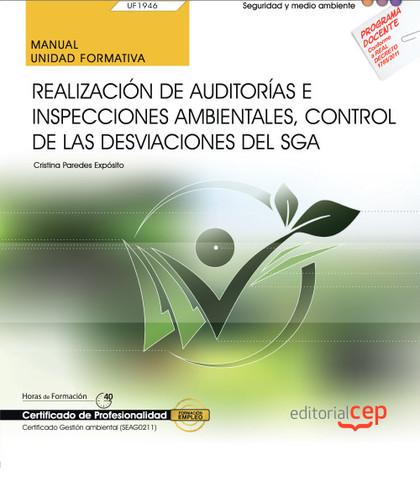 MANUAL. REALIZACIÓN DE AUDITORÍAS E INSPECCIONES AMBIENTALES, CONTROL DE LAS DES.