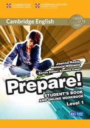 PREPARE! 1 STUDENT´S BOOK AND ONLINE WORKBOOK
