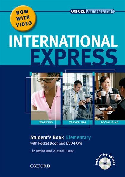 INTERNATIONAL EXPRESS ELEMENTARY + DVD PACK.