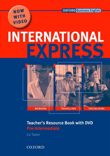 INTERNATIONAL EXPRESS PRE-INTERMEDIATE INTERACTIVE EDITIONS TEACHERS RESOURSE BOOK CON DVD