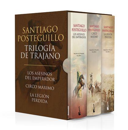 ESTUCHE TRILOGIA DE TRAJANO.