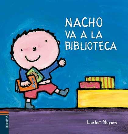 NACHO VA A LA BIBLIOTECA.
