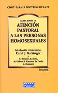 CARTA SOBRE LA ATENCIÓN PASTORAL A LAS PERSONAS HOMOSEXUALES