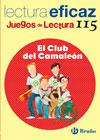 EL CLUB DEL CAMALEÓN, ESO, 1 CICLO. JUEGO DE LECTURA. CUADERNO