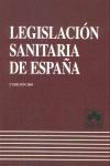 LEGISLACIÓN SANITARIA DE ESPAÑA