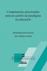 CE 91 COMPETENCIAS EMOCIONALES CAMBIO PARADIGMA EDUCACION
