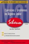 EJERCICIOS Y PROBLEMAS DE ÁLGEBRA LINEAL