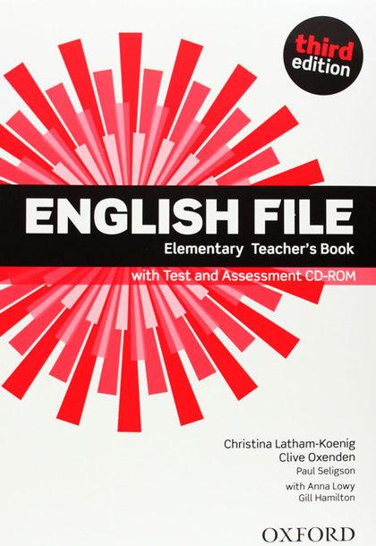 ENGLISH FILE ELEM TB&TEST CD PK 3ED.