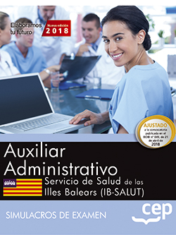 AUXILIAR ADMINISTRATIVO. SERVICIO DE SALUD DE LAS ILLES BALEARS (IB-SALUT). SIMU.
