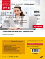 PACK AHORRO EXCELLENCE CUERPO GENERAL AUXILIAR ADMINISTRACI.