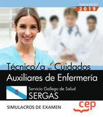 TECNICO EN CUIDADOS AUXILIARES DE ENFERMERIA SERGAS SIMULACROS EXAMEN