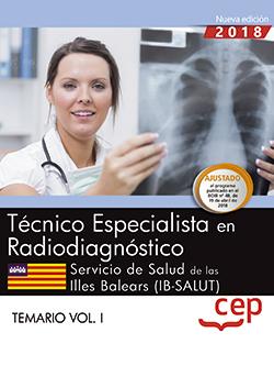 TÉCNICO/A ESPECIALISTA EN RADIODIAGNÓSTICO. SERVICIO DE SALUD DE LAS ILLES BALEA.