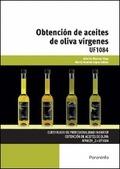 OBTENCIÓN DE ACEITES DE OLIVA VÍRGENES