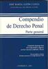 COMPENDIO DE DERECHO PENAL : PARTE GENERAL : ACTUALIZADO CON LA LEY ORGÁNICA 5/2010 DE 22 DE JU