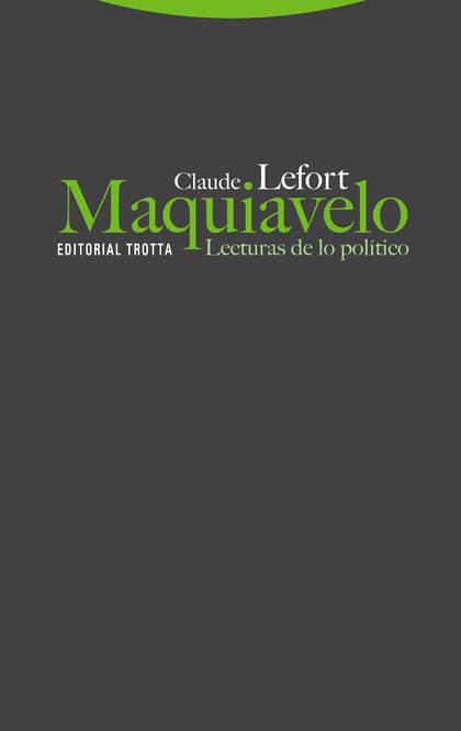MAQUIAVELO. LECTURAS DE LO POLÍTICO.